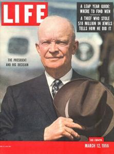 Dwight D. Eisenhower, March 12, 1956 by Hank Walker