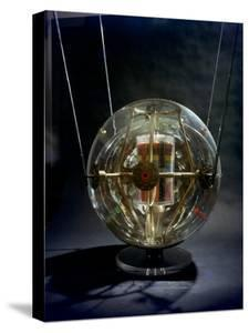 Model of Earth Satellite Created at Naval Research Lab Shows How Instruments Will Be Stacked by Hank Walker