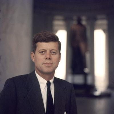 Senator John F. Kennedy Portrait, 1957 by Hank Walker