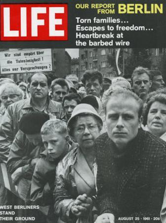 West Berliners Stand their Ground, August 25, 1961