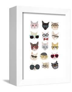 Cats with Glasses by Hanna Melin