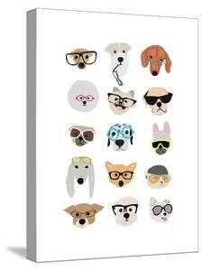 Dogs with Glasses by Hanna Melin