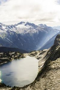 Beautiful View Of An Alpine Lake In The North Cascade Mountains Of Washington by Hannah Dewey