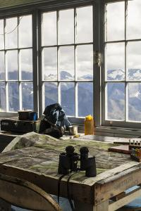 View From Inside A Fire Lookout In The North Cascade Mountain Range In Washington During Summer by Hannah Dewey