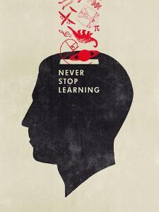 Never Stop Learning by Hannes Beer