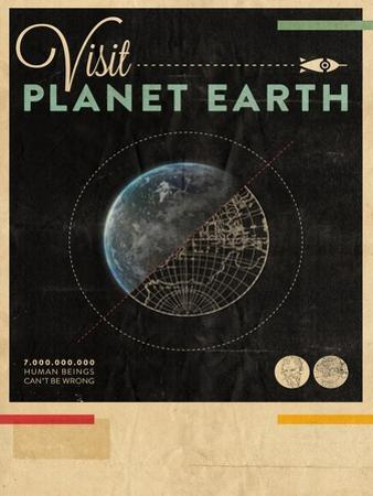 Visit Planet Earth by Hannes Beer