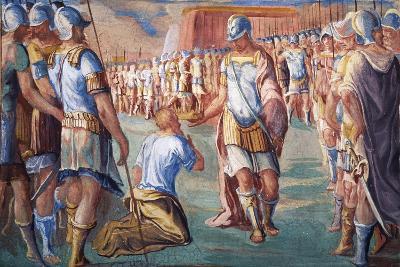 Hannibal Victorious over Roman Army-Antonio Circignani-Giclee Print