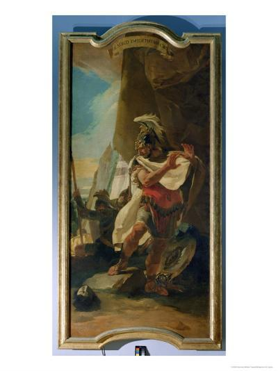 Hannibal with the Head of His Brother Hasdrubal, 1728-30-Giovanni Battista Tiepolo-Giclee Print