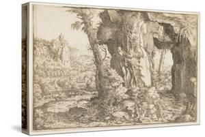 Balaam and the Angel by Hanns Sebald Lautensack