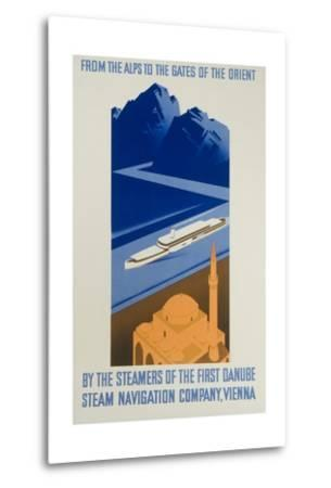 Danube Steam Navigation Company Poster