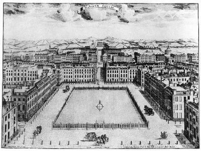 Hanover Square, London, 18th Century--Giclee Print