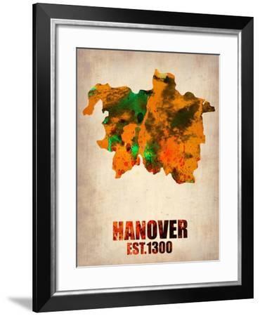 Hanover Watercolor Poster-NaxArt-Framed Art Print
