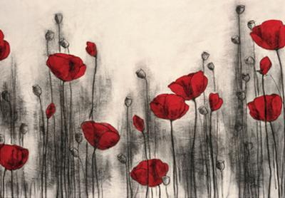 Red Poppies by Hans Andkjaer