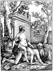 Aristotle and Phyllis, 1513 by Hans Baldung
