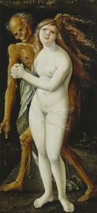 Death and the Girl, 1517 by Hans Baldung