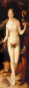Eve by Hans Baldung
