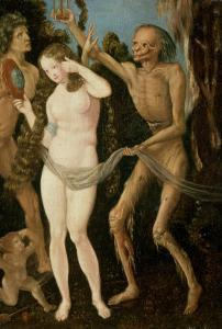 An Allegory of Death and Beauty by Hans Baldung Grien