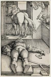 Bewitched Groom, C. 1544 by Hans Baldung Grien