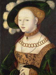 Bildnis einer Dame. 1530 (?) by Hans Baldung Grien