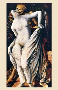 Death and a Woman by Hans Baldung Grien
