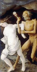 Death and Youth, Hans Baldung Brien, Bargello National Museum, Florence by Hans Baldung Grien