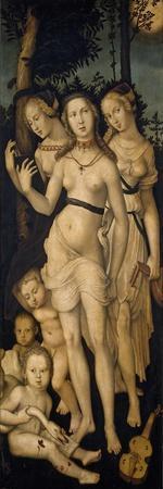 Harmony, or The Three Graces, 1541-1544