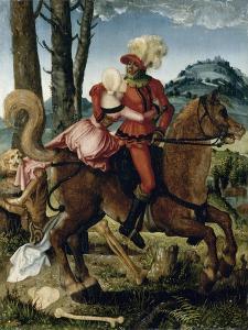 Le Chevalier, la jeune fille et la Mort by Hans Baldung Grien