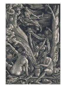 Les Sorcières by Hans Baldung Grien