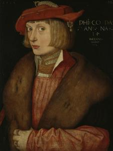 Philip the Warlike, Count Palatine, 1517 by Hans Baldung Grien