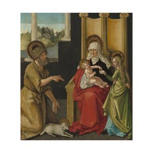 Saint Anne with the Christ Child, the Virgin, and Saint John the Baptist, c.1511 by Hans Baldung Grien