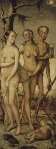 The Ages of Life and Death 1541-44 151X61Cm by Hans Baldung Grien