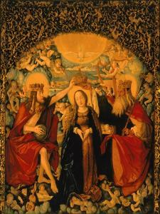 The Coronation of the Virgin, Central Panel from the High Altar, 1512-16 by Hans Baldung Grien