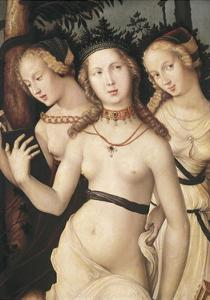 The Harmony Or, the Three Graces by Hans Baldung Grien