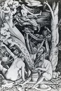 The Witches at the Sabbath by Hans Baldung Grien
