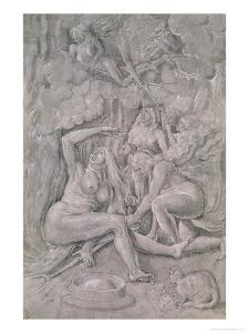 The Witches' Sabbath, circa 1515 by Hans Baldung Grien
