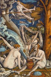 Witches, 1508 by Hans Baldung Grien