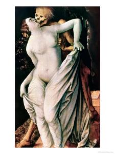 Woman and Death, circa 1517 by Hans Baldung Grien