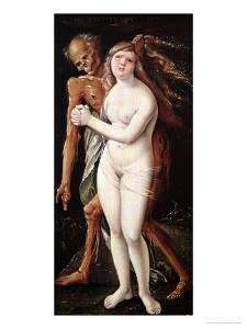 Young Woman and Death, 1517 by Hans Baldung Grien