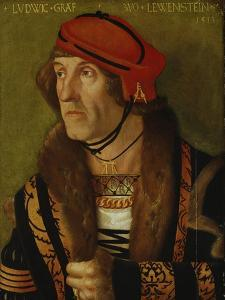 Portrait of the Earl of Loewenstein, 1513 by Hans Baldung