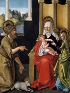 Saint Anne with the Christ Child, the Virgin, and Saint John the Baptist, C1511 by Hans Baldung