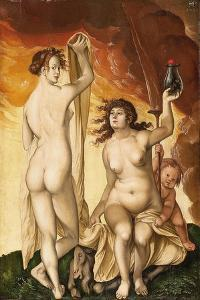 Two Witches by Hans Baldung