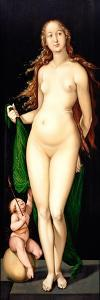 Venus and Amor by Hans Baldung