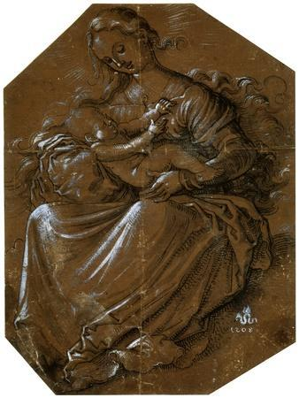 'Virgin and Child', c1500-1545