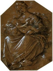 'Virgin and Child', c1500-1545 by Hans Baldung