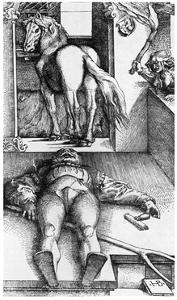 Witch Hunt: the Bewitched Groom, 16th Century by Hans Baldung