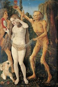 Youth and Death, 1509-1510 by Hans Baldung
