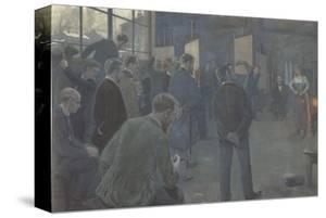 Painting School by Hans Baluschek