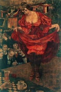 Variety, 1900 by Hans Baluschek