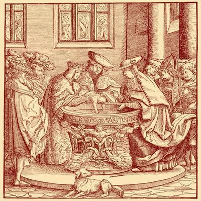 Christening of Maximilian I