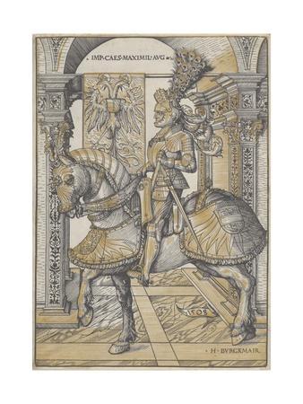 Equestrian Portrait of the Emperor Maximilian I, 1508